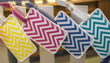 Pattern Bag Tags