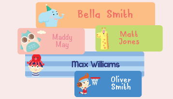 Animated Name Labels