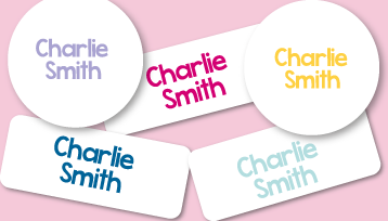 New! Classic Name Labels