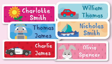 Daycare Name Labels
