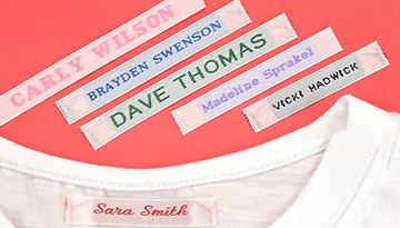 Sew in Clothing Labels