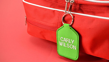 Coloured Bag Tags