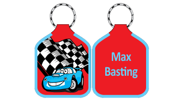 Classic Bag Tags - Car