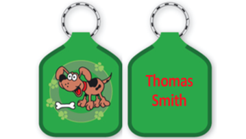 Classic Bag Tags - Dog