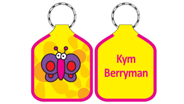 Classic Bag Tags - Butterfly