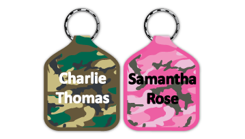 Camouflage Bag Tags