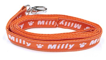 Medium Personalised Dog Leads