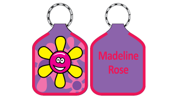 Classic Bag Tags - Flower