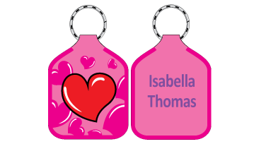 Classic Bag Tags - Heart