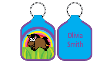 Classic Bag Tags - Horse