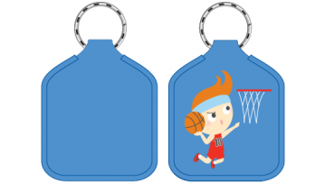 Designer Bag Tags - Basketball