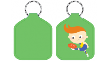Designer Bag Tags - Football
