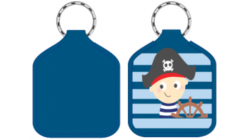 Designer Bag Tags - Pirate