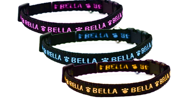 Personalised Cat Collars - Sparkle