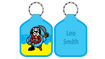 Classic Bag Tags - Pirate