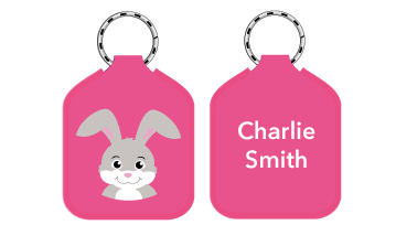 New! Designer Bag Tags - Rabbit