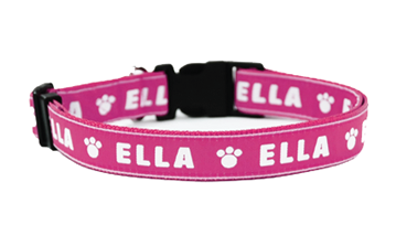 Small Personalised Dog Collars