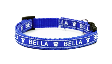 X Small Personalised Dog Collars